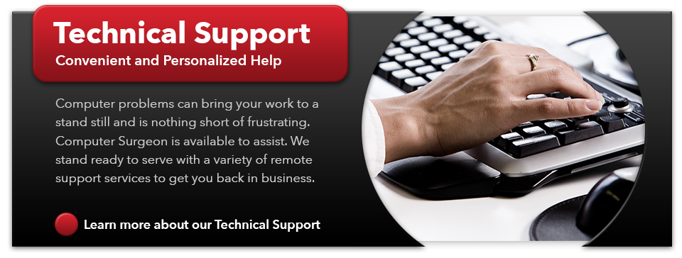 Computer Surgeon technical support services