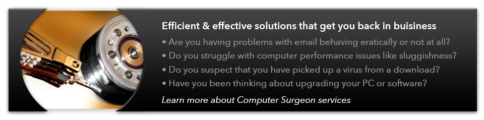 Computer Surgeon Services